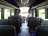 2021 Berkshire Coach Ultra 28 Ford 23 Passenger Luxury Bus Interior-BERK2112-12