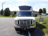 2021 Berkshire Coach Ultra 28 Ford 23 Passenger Luxury Bus Front exterior-BERK2112-7