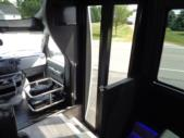 2022 Berkshire Coach Ultra 24 Ford 14 Passenger Shuttle Bus Interior-BERK2126-17