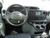2022 Berkshire Coach Ultra 24 Ford 14 Passenger Shuttle Bus Interior-BERK2126-19