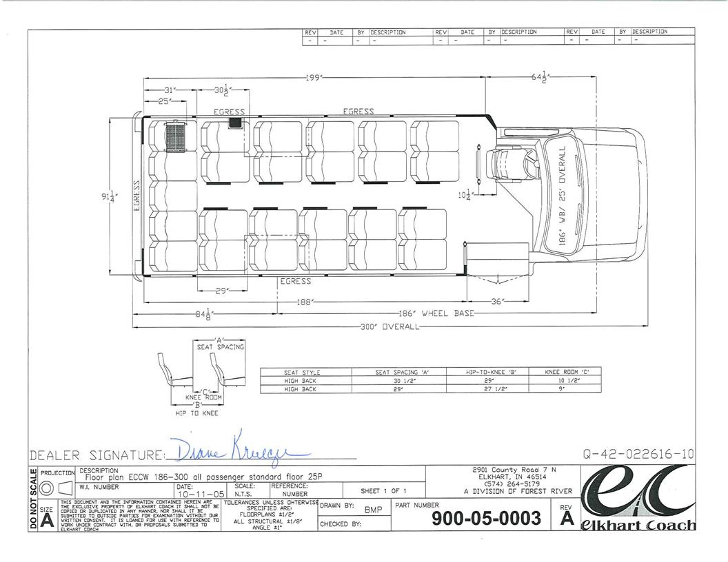 Elkhart Coach Wiring Diagram Detailed Schematics Van Hool Bus Diagrams Ecii With A Ford E450 Chassis Startrans