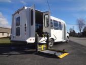 2022 Elkhart Coach ECII Ford 8 Passenger and 4 Wheelchair Shuttle Bus Interior-EC10504-10