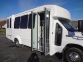 2022 Elkhart Coach ECII Ford 8 Passenger and 4 Wheelchair Shuttle Bus Interior-EC10504-11