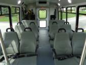 2022 Elkhart Coach ECII Ford 14 Passenger Shuttle Bus Interior-EC11694-12