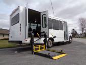2020 Elkhart Coach ECII Ford 12 Passenger and 2 Wheelchair Shuttle Bus Interior-EC12268-9