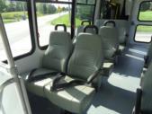 2020 Elkhart Coach ECII Ford 8 Passenger and 4 Wheelchair Shuttle Bus Interior-EC12320-14