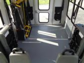 2020 Elkhart Coach ECII Ford 8 Passenger and 4 Wheelchair Shuttle Bus Interior-EC12320-16
