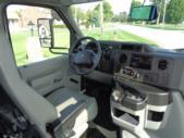 2020 Elkhart Coach ECII Ford 8 Passenger and 4 Wheelchair Shuttle Bus Interior-EC12320-18