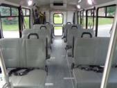 2021 Elkhart Coach ECII Ford 0 Passenger and 7 Wheelchair Shuttle Bus Interior-EC12384-12