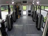 2021 Elkhart Coach ECII Ford 0 Passenger and 7 Wheelchair Shuttle Bus Interior-EC12384-14