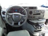 2021 Elkhart Coach ECII Ford 0 Passenger and 7 Wheelchair Shuttle Bus Interior-EC12384-18
