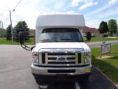 2021 Elkhart Coach ECII Ford 0 Passenger and 7 Wheelchair Shuttle Bus Front exterior-EC12384-7