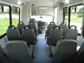 2022 Elkhart Coach ECII Ford 12 Passenger and 2 Wheelchair Shuttle Bus Interior-EC12405-12