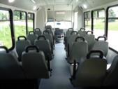 2021 Elkhart Coach ECII Ford 16 Passenger and 2 Wheelchair Shuttle Bus Interior-EC12427-11