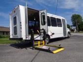 2021 Elkhart Coach ECII Ford 16 Passenger and 2 Wheelchair Shuttle Bus Rear exterior-EC12427-8