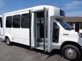 2021 Elkhart Coach ECII Ford 16 Passenger and 2 Wheelchair Shuttle Bus Interior-EC12427-9