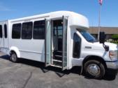 2021 Elkhart Coach ECII Ford 8 Passenger and 3 Wheelchair Shuttle Bus Interior-EC12446-10
