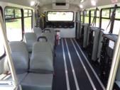 2021 Elkhart Coach ECII Ford 8 Passenger and 3 Wheelchair Shuttle Bus Interior-EC12446-11