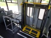 2021 Elkhart Coach ECII Ford 8 Passenger and 3 Wheelchair Shuttle Bus Interior-EC12446-16