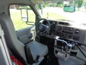2021 Elkhart Coach ECII Ford 8 Passenger and 3 Wheelchair Shuttle Bus Interior-EC12446-18