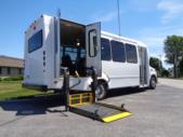 2021 Elkhart Coach ECII Ford 8 Passenger and 3 Wheelchair Shuttle Bus Interior-EC12446-9