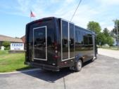 2021 Elkhart Coach ECII Ford 0 Passenger and 7 Wheelchair Shuttle Bus Passenger side exterior rear angle-EC12460-3