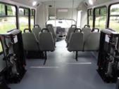 2021 Elkhart Coach ECII Ford 8 Passenger and 4 Wheelchair Shuttle Bus Interior-EC12499-13