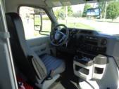 2021 Elkhart Coach ECII Ford 25 Passenger Shuttle Bus Interior-EC12624-16