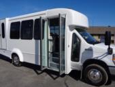 2022 Elkhart Coach ECII Ford 8 Passenger and 4 Wheelchair Shuttle Bus Interior-EC13106-11