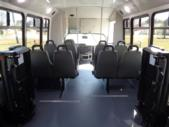 2022 Elkhart Coach ECII Ford 8 Passenger and 4 Wheelchair Shuttle Bus Interior-EC13106-13