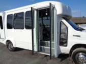 2022 Elkhart Coach ECII Ford 12 Passenger and 2 Wheelchair Shuttle Bus Interior-EC13124-10