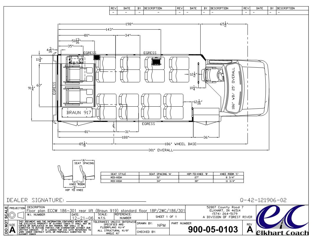 Elkhart Coach Wiring Diagram Detailed Schematics Van Hool Bus Diagrams Ecii With A Ford E450 Chassis Starcraft