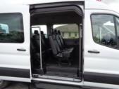 2021 Ford Transit X2C-XL Ford 12 Passenger Van Interior-FRV047-10