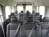 2021 Ford Transit X2C-XL Ford 12 Passenger Van Interior-FRV047-11
