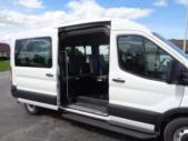 2021 Ford Transit X2C-XL Ford 3 Passenger and 2 Wheelchair Van Interior-FRV058-10