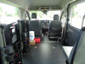 2021 Ford Transit X2C-XL Ford 3 Passenger and 2 Wheelchair Van Interior-FRV058-12