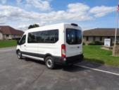 2021 Ford Transit X2C-XL Ford 3 Passenger and 2 Wheelchair Van Driver side exterior rear angle-FRV058-4