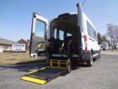 2021 Ford Transit X2C-XL Ford 3 Passenger and 2 Wheelchair Van Interior-FRV164-10