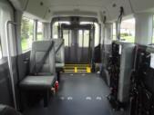 2022 Ford Transit X2C-XL Ford 3 Passenger and 2 Wheelchair Van Interior-FRV234-11