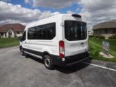 2022 Ford Transit X2C-XL Ford 3 Passenger and 2 Wheelchair Van Driver side exterior rear angle-FRV234-4