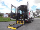 2022 Ford Transit X2C-XL Ford 3 Passenger and 2 Wheelchair Van Interior-FRV234-9