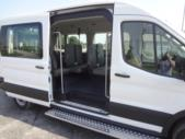 2021 Ford Transit X2C-XL Ford 1 Passenger and 3 Wheelchair Van Interior-FRV291-11