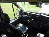 2021 Ford Transit X2C-XL Ford 1 Passenger and 3 Wheelchair Van Interior-FRV291-18