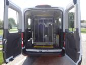 2021 Ford Transit X2C-XL Ford 1 Passenger and 3 Wheelchair Van Interior-FRV291-9