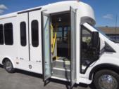 2021 Glaval Commute Ford 8 Passenger and 2 Wheelchair Shuttle Bus Interior-GL101698-11