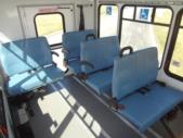 2021 Glaval Commute Ford 8 Passenger and 2 Wheelchair Shuttle Bus Interior-GL101698-15