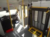 2021 Glaval Commute Ford 8 Passenger and 2 Wheelchair Shuttle Bus Interior-GL101698-16