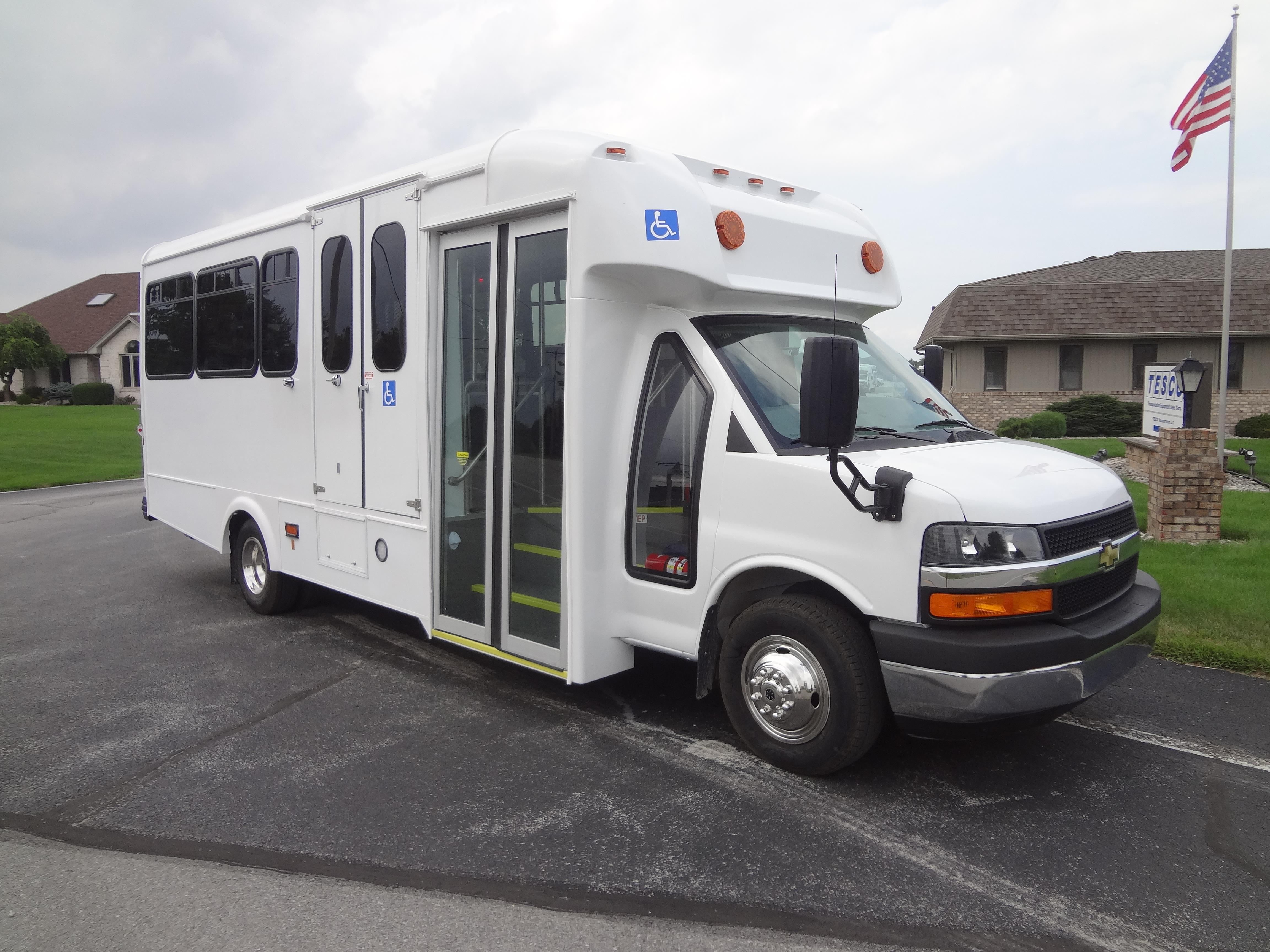 [FPER_4992]  2018 Glaval Titan II Chevrolet 11 Passengers and 3 Wheelchairs | Glaval Bus Wiring Diagram |  | Tesco Bus