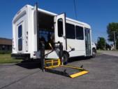 2020 Glaval Universal Ford 8 Passenger and 3 Wheelchair Shuttle Bus Interior-GL96377-10