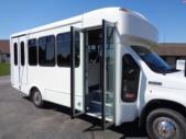 2020 Glaval Universal Ford 8 Passenger and 3 Wheelchair Shuttle Bus Interior-GL96377-11